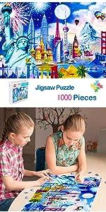 Jigsaw Puzzles 1000pcs