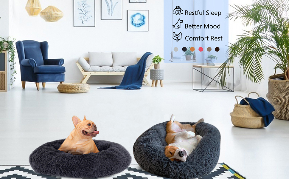Pet Bed for Cats and Small Medium Dogs