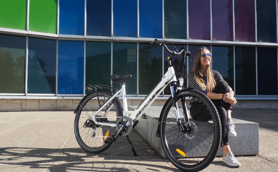 Vélo électrique trekking SIDNEY Urbanbiker, Ebike