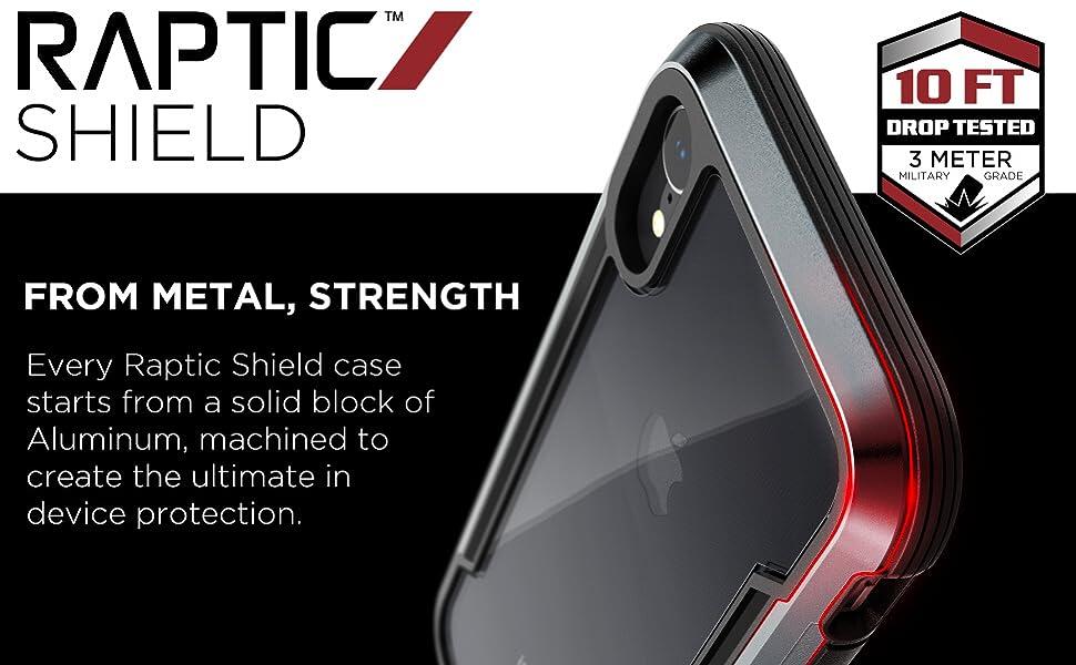 defense x-doria raptic shield military grade drop protect scratch scrape bump indestructible durable