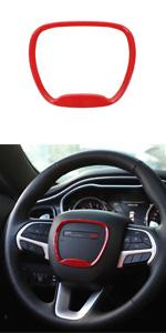 Voodonala for Challenger Charger Durango Steering Wheel Trim