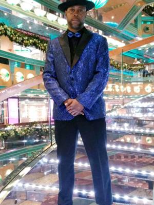 men stylish dress suit jacket