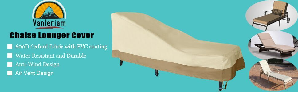 Patio Chaise Lounger Cover