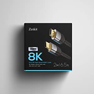 HDMI 2.1, 8K, HDR, PS5, 4K120