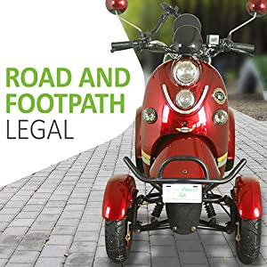 ROAD AND FOOTPATH LEGAL