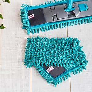 microfiber refill for flat mop
