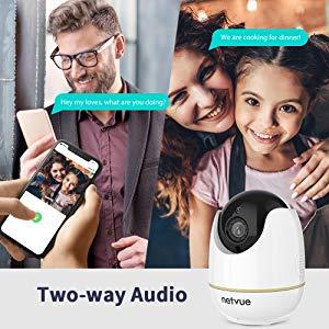 indoor camera NETVUE pet camera indoor security camera baby camera baby monitor home camera