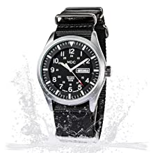 Infantry Military Watches for Men Tactical Wrist Watch Waterproof Outdoor Field Black Army Work NATO