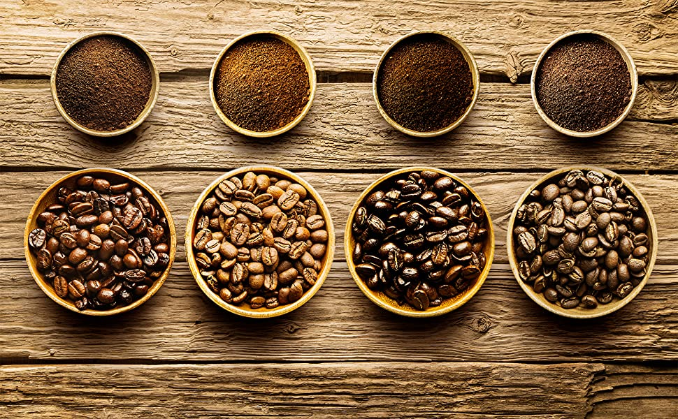 coffee beans grind