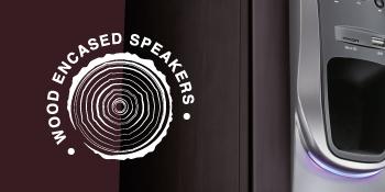 FINGERS Solitaire Wood Encased Speaker