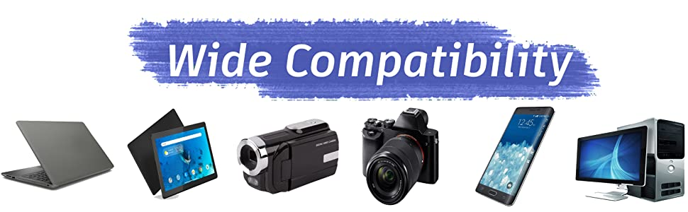 Compatible with All 3.5 mm Devices like Laptop, Desktop, PC, Camcorder, Mobile, DSLR, Smart Phone