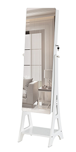 Standing Dressing Mirror Cabinet