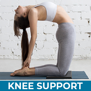Yoga Knee Pad Kneeling Pads Extra Thick Support for Knees Knee Mat Exercise Pad
