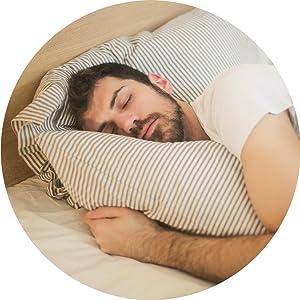 balance sleep men