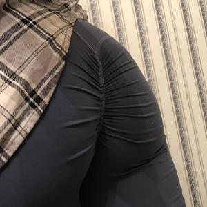 High Waist Scrunch Ruched Yoga Pants