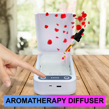 disinfector uv uv-c ultraviolet soap portable Jewelry Watches Glasses wireless phonesoap
