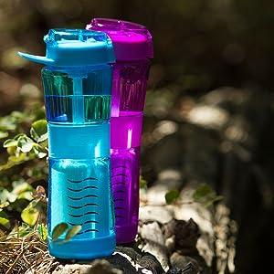 best portable water filter bottle, portable water filter for travel, survival water filter bottle