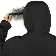 removable fur hood