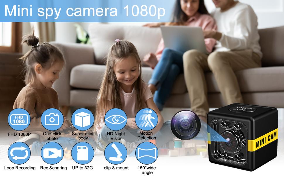 mini spy camera 1080p