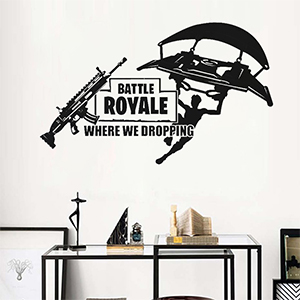 Wall Decal Poster Lettering Wall Stickers Murals for Boys Bedroom Playroom