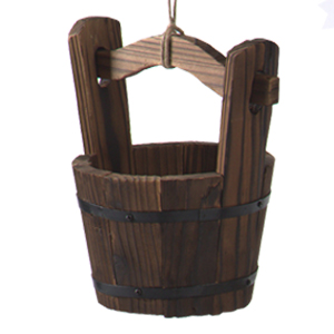 wooden planter yard decorations windmills for the yard wishing wells for outdoors garden decor