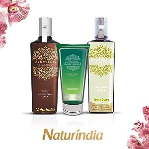 HEAL AMLa AYURVEDA life style BEAUTY NATURINDIA rganico organic shampoo