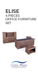 Elise 4 Pieces Office Furniture Set