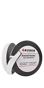 magneetband rol zelfklevende strook magneet magneettape band tape schuimlijm