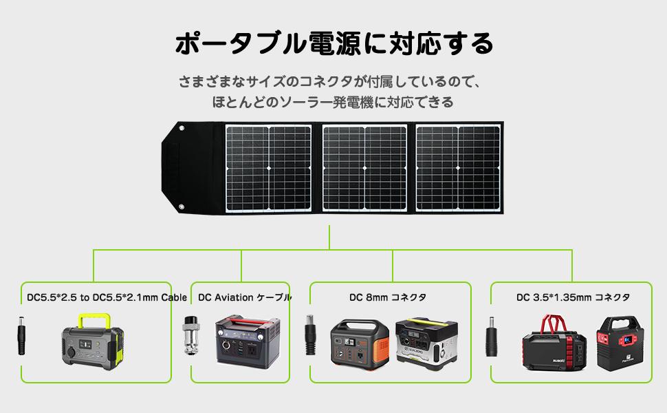 市場で最も多くのソーラーパネル電源に対応する