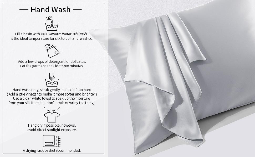 j jimoo natural slip silk pillowcase