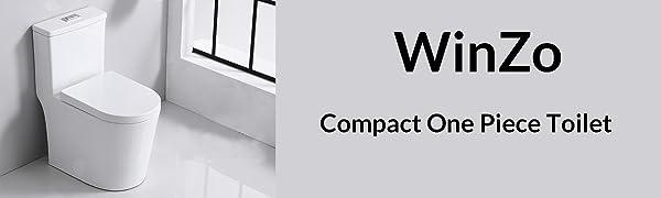 WinZo WZ5089 Compact One Piece Toilet