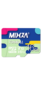 and Built for Lifetime of Constant Use! MIXZA Performance Grade 16GB ICEMOBILE Apollo Touch MicroSDHC Card is Pro-Speed UHS-I,U3,48MBs Heat /& Cold Resistant