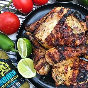 chili hot sauce chicken
