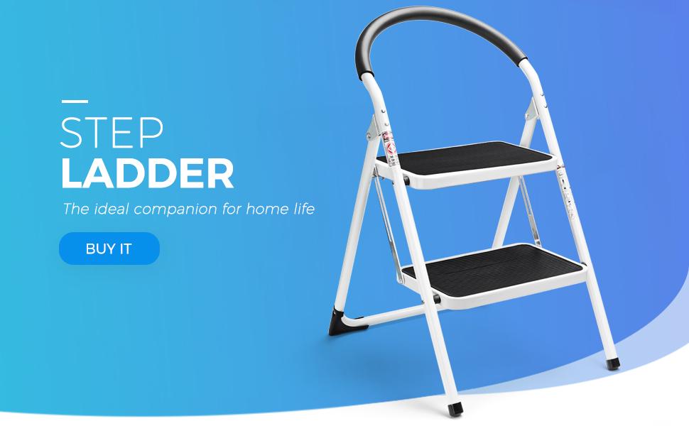 Delxo  folding step ladder