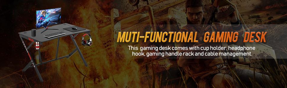 Gaming Desk Computer Desk Home Office Desk