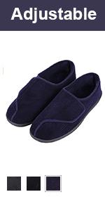 longbay mens adjjustable slippers
