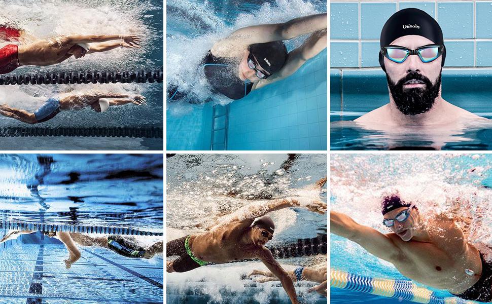 Unswim Professional Swimming Goggles