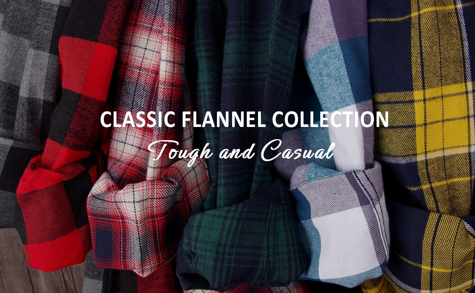 Banner of flannel