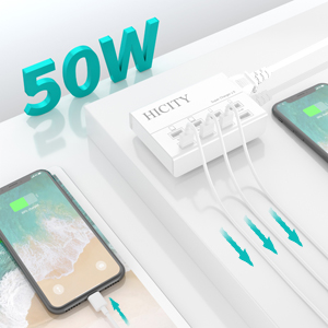charging hub for multiple devices