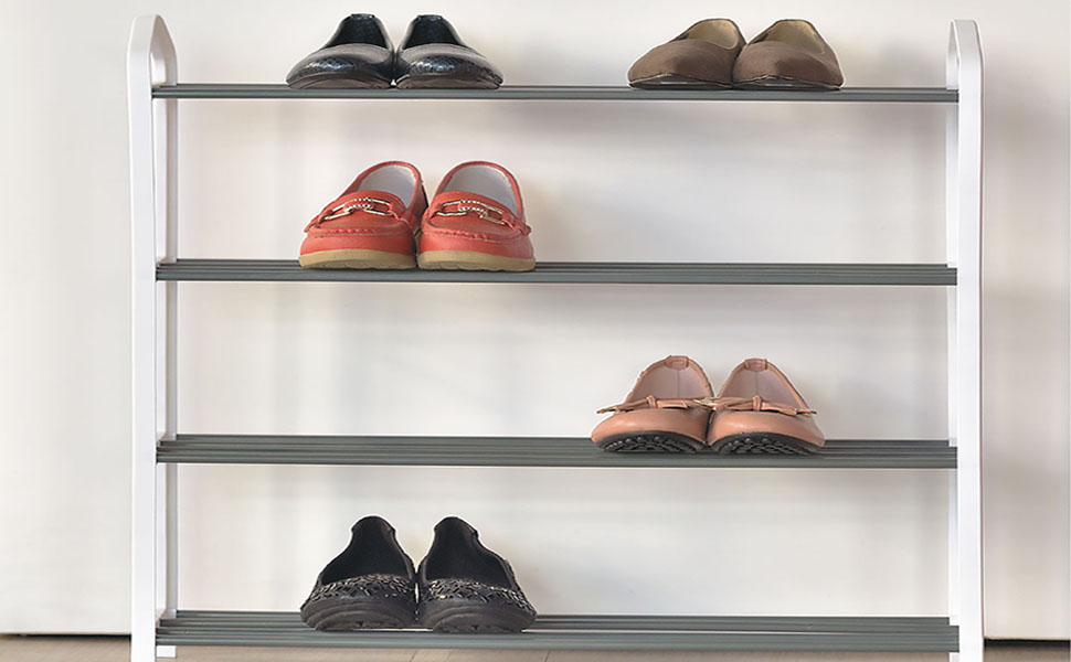 Shoe Organizer Free Standing Shoe Rack