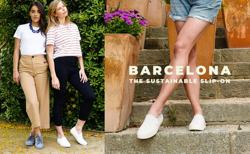 Biankina Slip On Barcelona Sustainable Sneaker