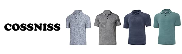 COSSNISS Mens Polo Shirts , To meet all your daily needs