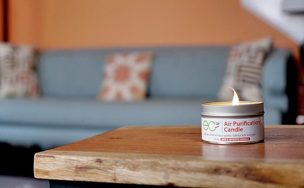 ec3 air purification all natural botanical clean green soy wax fragrance free
