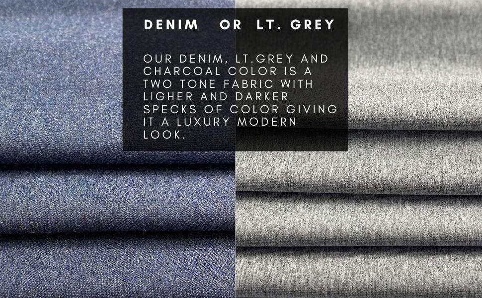 turkish cotton lycra fabric heather grey