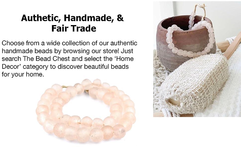home decor, home decor beads, decorative beads, designer beads, african beads, glass beads