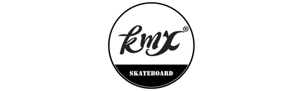 KMX Plastic skateboard for kids teens youth adults beginners