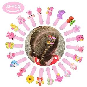 130pcs Hair Clips, Teenitor No Slip Metal 2 Inch Snap Barrettes Girls Women