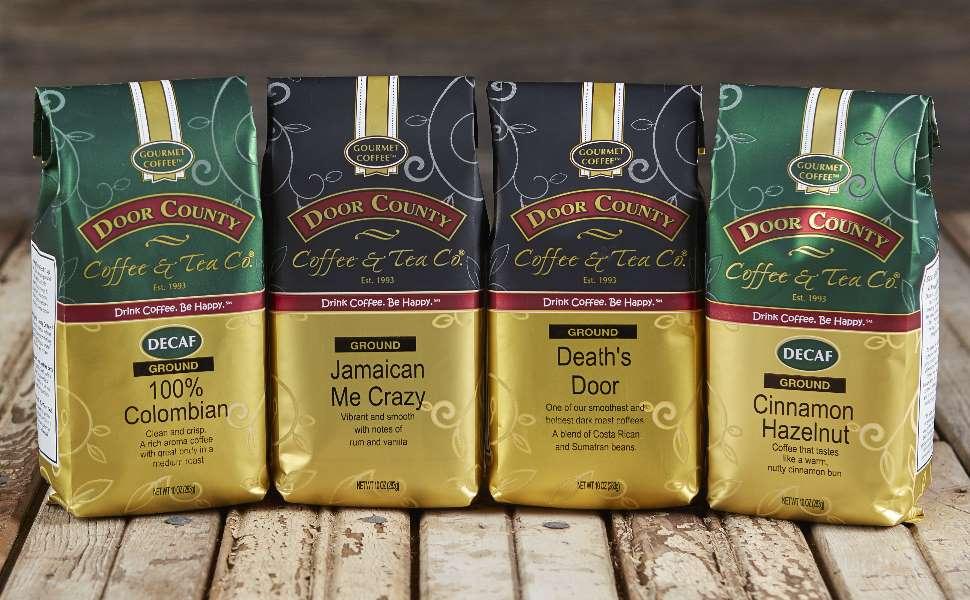 Door County Coffee 10 ounce bags