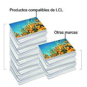 LCL Cartucho de Tinta Compatible 82 11 CH565A C4836A C4837A C4838A (1Negro 1Cian 1Magenta 1Amarillo) Reemplazo para HP Designjet 111 Printer Series: Amazon.es: Electrónica