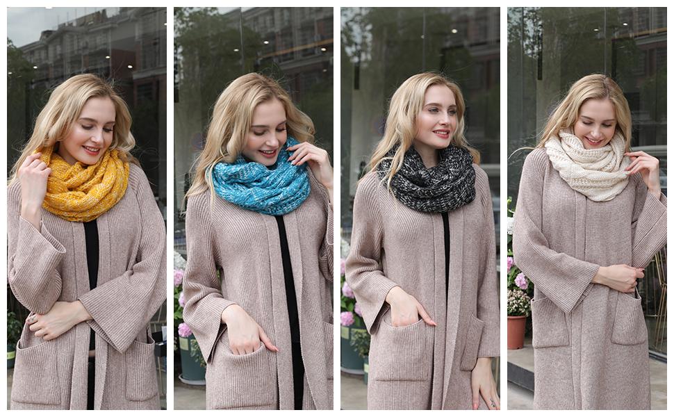 scarfs for women infinity